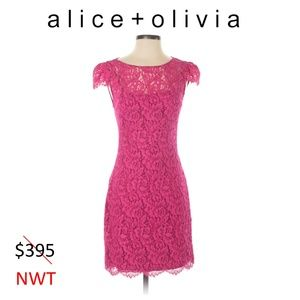NWT alice + olivia Cocktail Dress